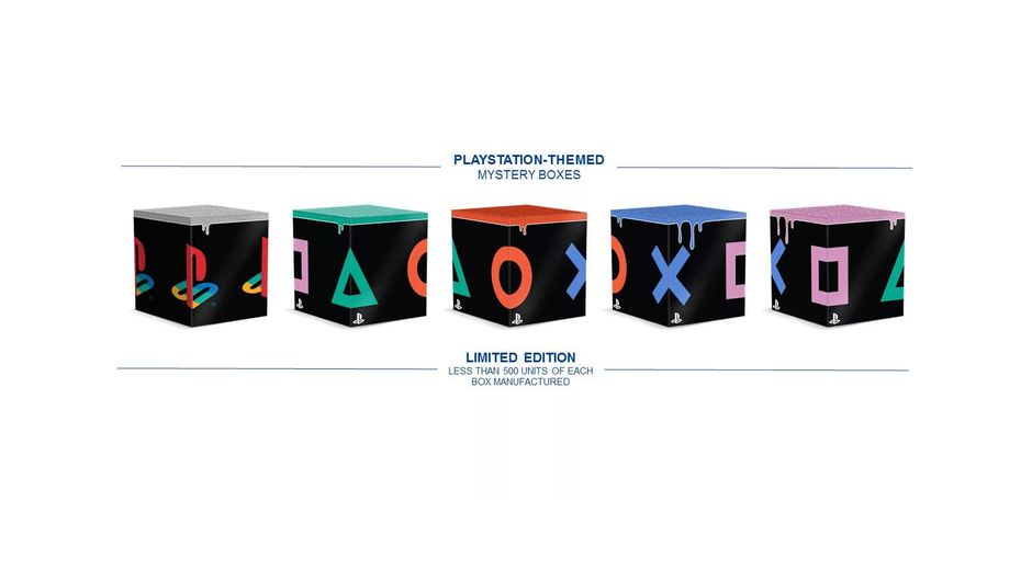 Sony's PlayStation-branded Mystery Boxes from Comic-Con 2019
