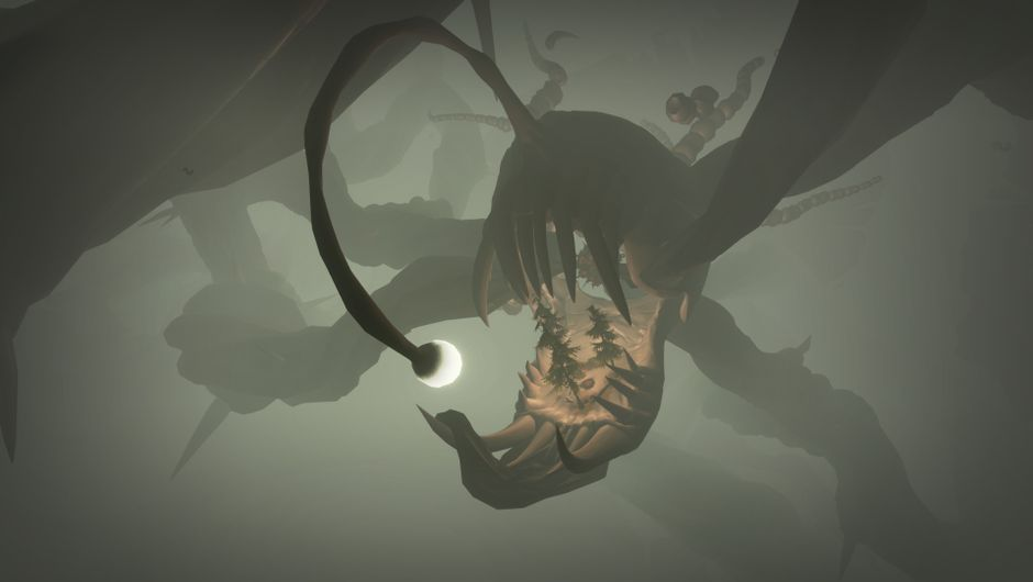 Large monster from Outer Wilds