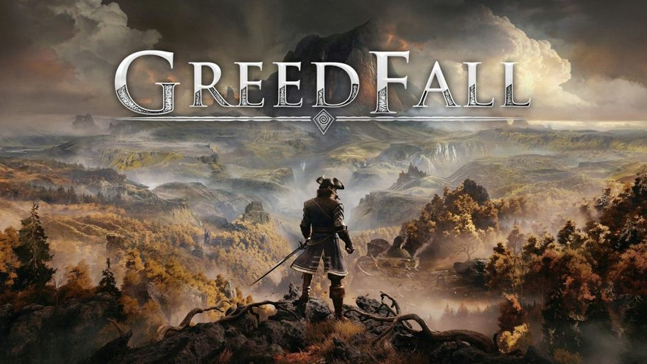 greedfall artwork showing a pirate standing on a hill