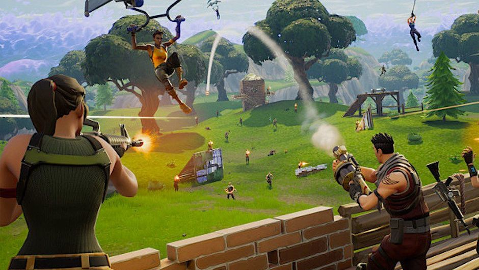 People are fighting all over the place in Fortnite Battle Royale