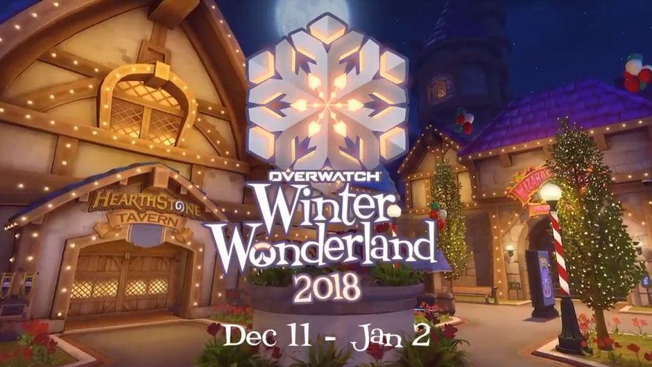 Picture of the Overwatch Winter Wonderland in-game event