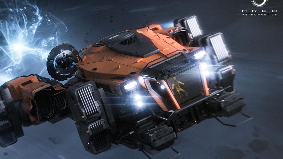 Star Citizen's search and rescue ship, the Argo SRV in action