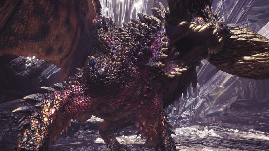 Monster Hunter: World's creature Arch-Tempered Nergigante