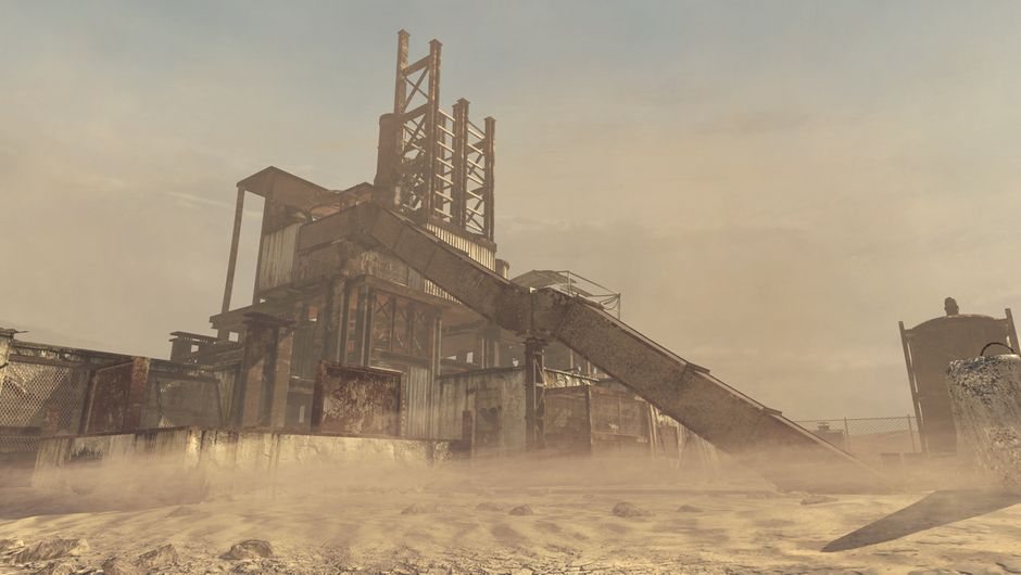 screenshot showing Rust map from call of duty