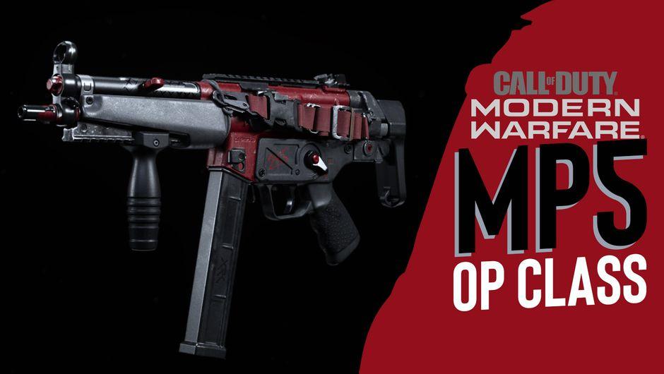 cod mw artwork showing MP5 class