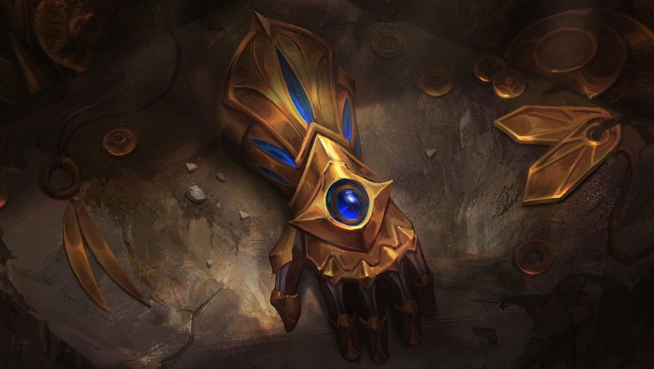 Picture of Ezreal's gauntlet in League of Legends