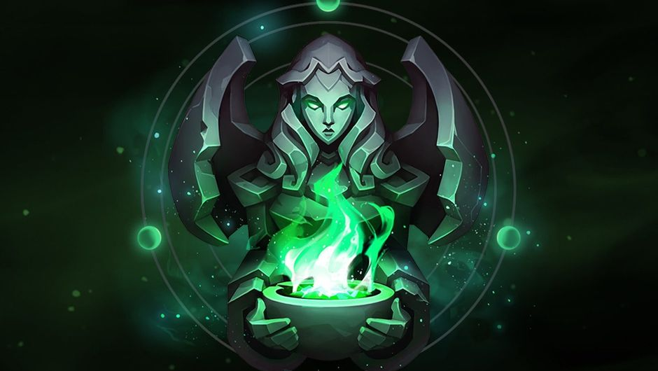 Example picture of an Eternal in League of Legends