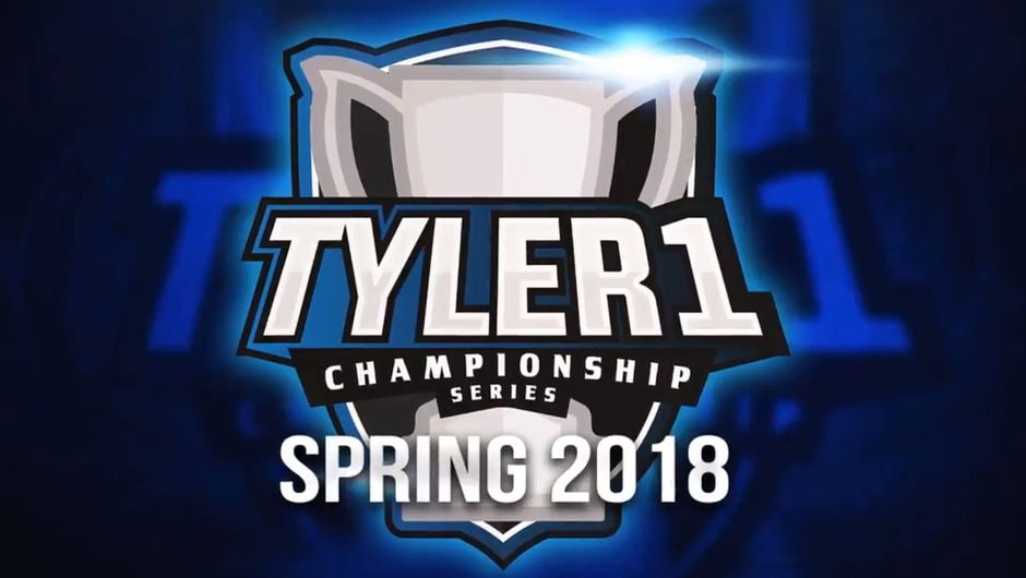 Promotional image for Tyler1 Championship Series