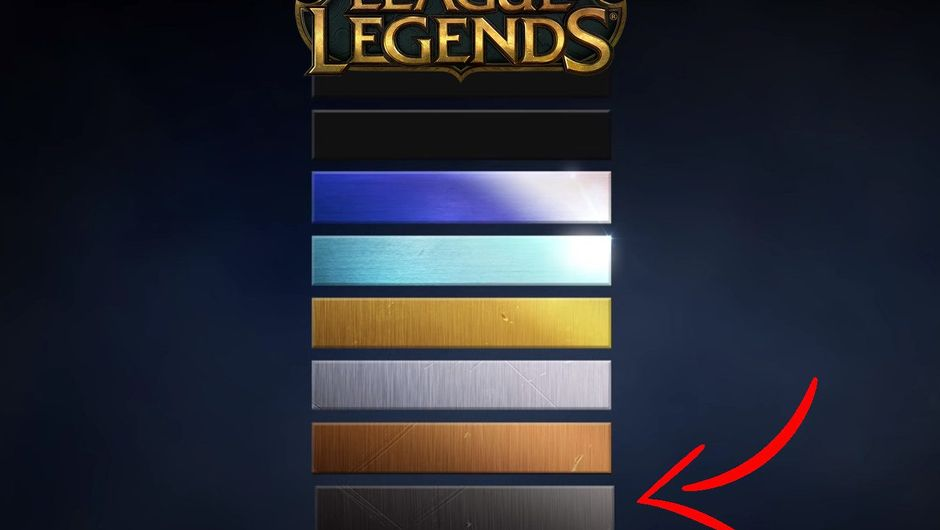 League of Legends' preview of the new Iron Tier which is worse than Bronze