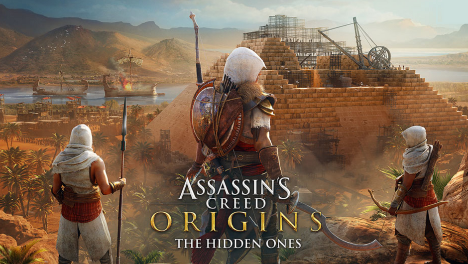 Assassin's Creed Origins - The Hidden Ones expansion logo