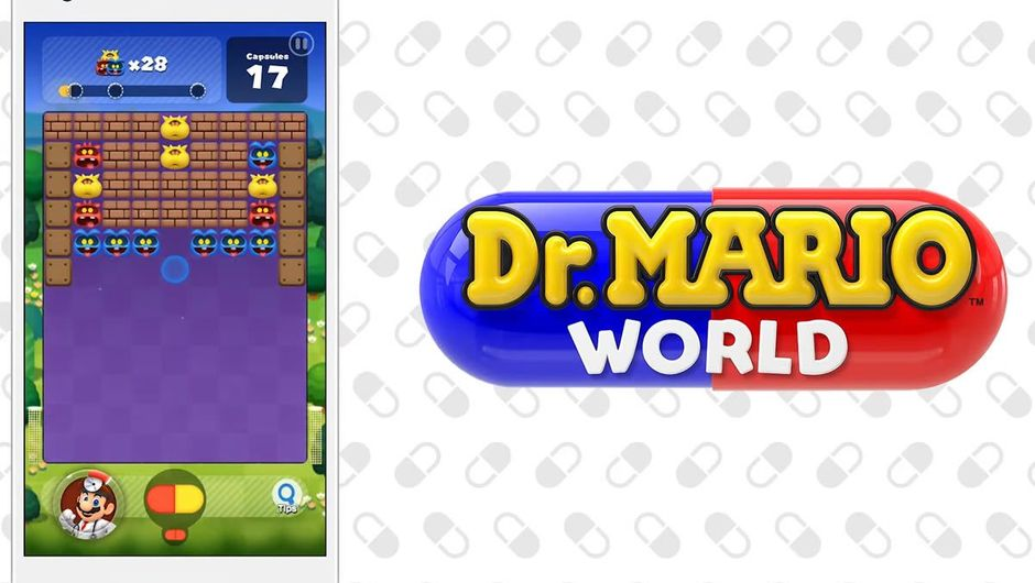 Dr. Mario World level