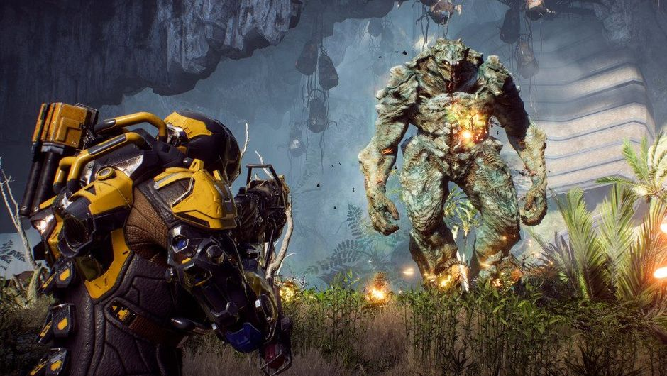 picture showing combat in Anthem