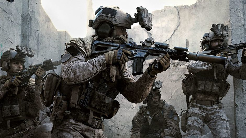 Picture of some soldiers in Call of Duty: Modern Warfare