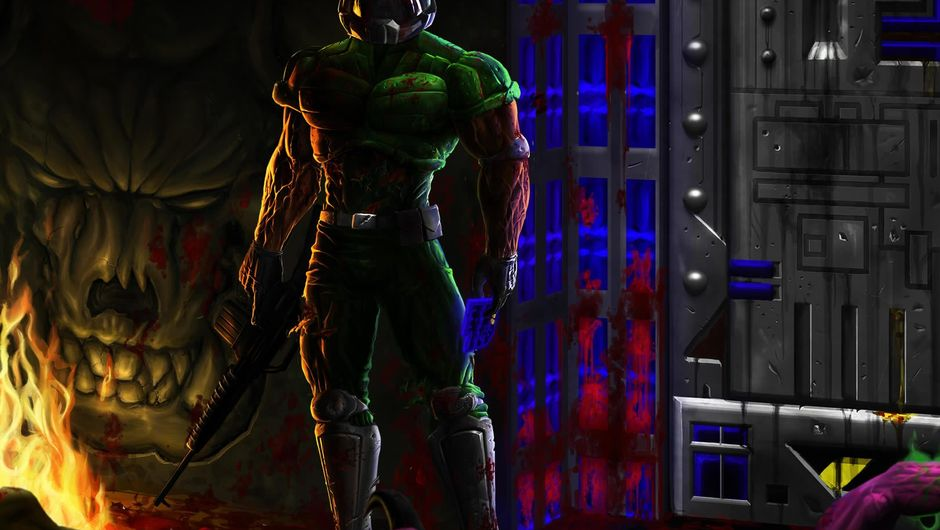 Cover photo for Brutal Doom, popular mod of id Software's game