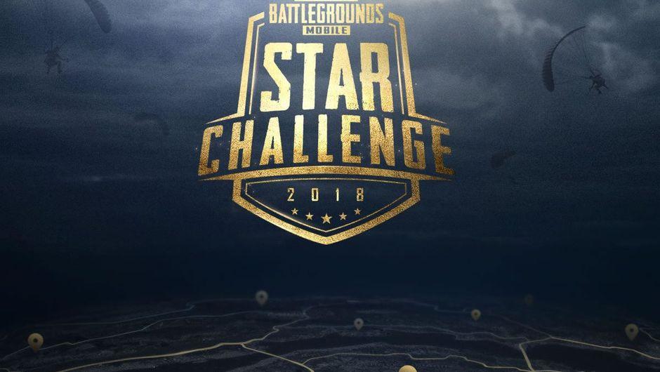 PUBG Mobile Star Challenge 2018 tournament logo