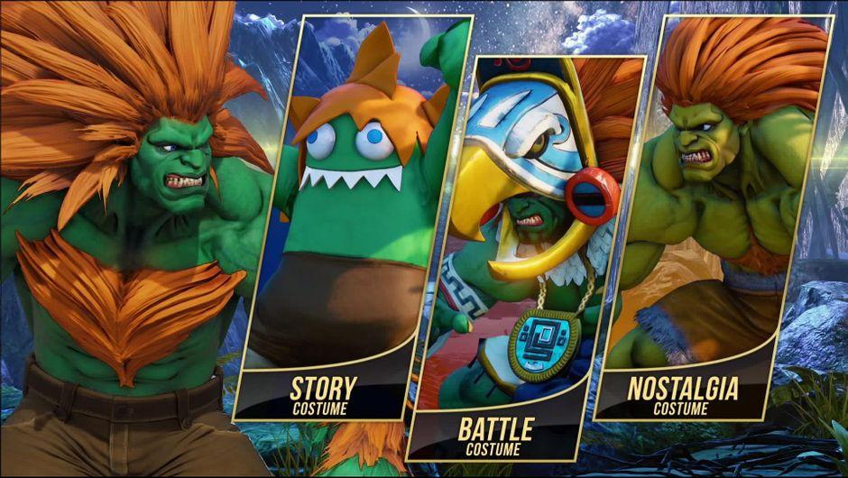 Street Fighter 5 Blanka Dlc Preview