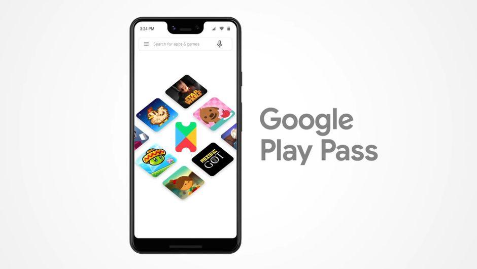 Google's mobile subscription service logo