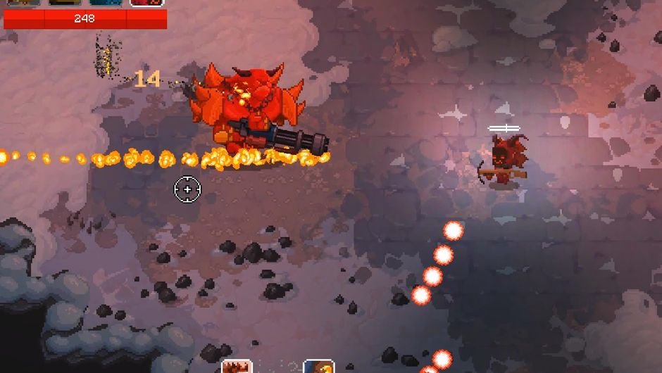 Screenshot of Deck13's dungeon crawler To Hell With Hell