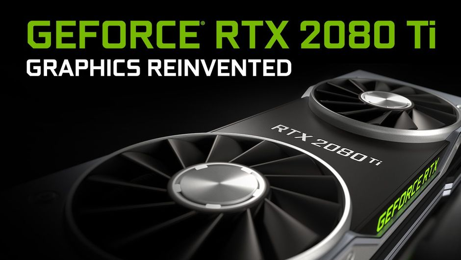 Promotional image for GeForce RTX 2080 Ti by Nvidia