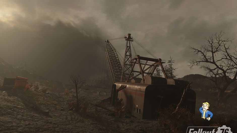 Picture of some abandoned site in Fallout 76