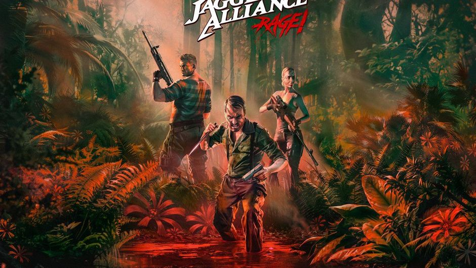 Picture of the key art for Jagged Alliance: Rage!