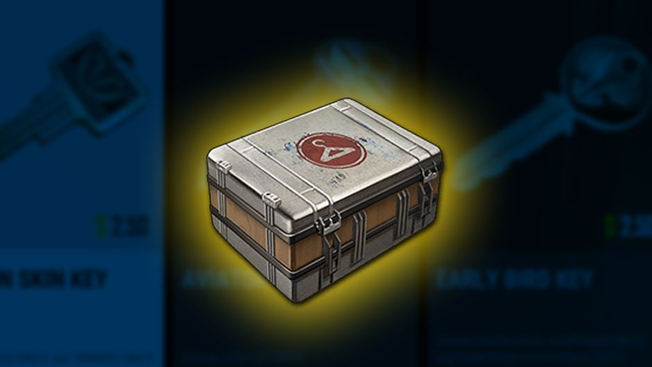 artwork showing crate from pubg