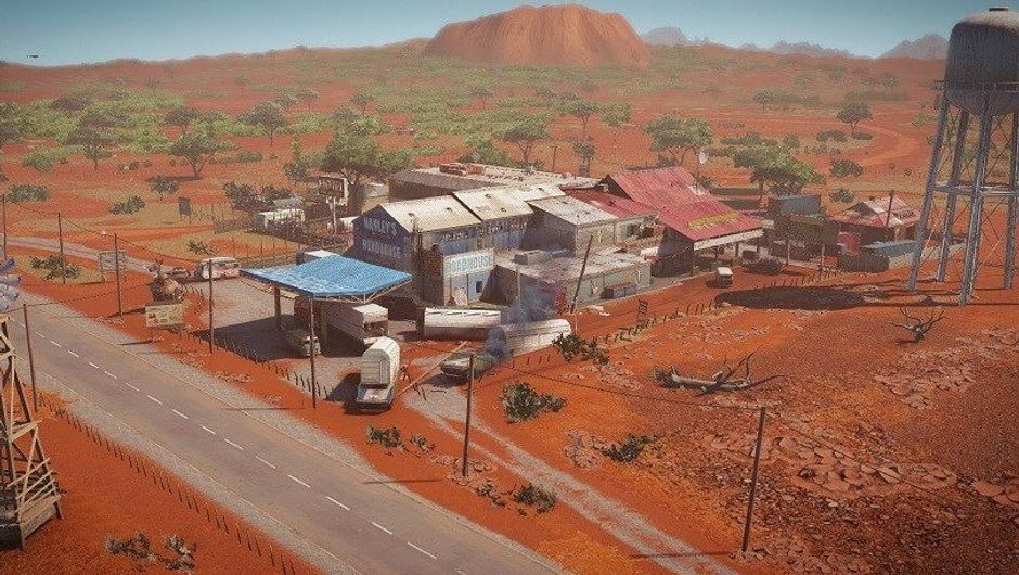 Picture of the new Australian map from Rainbow Six Siege