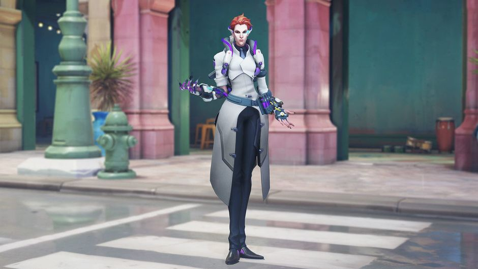 Picture of the Scientist Moira in Overwatch