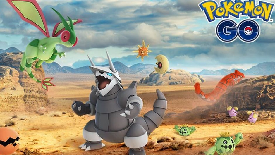 New monsters from the Hoenn region in Pokemon GO