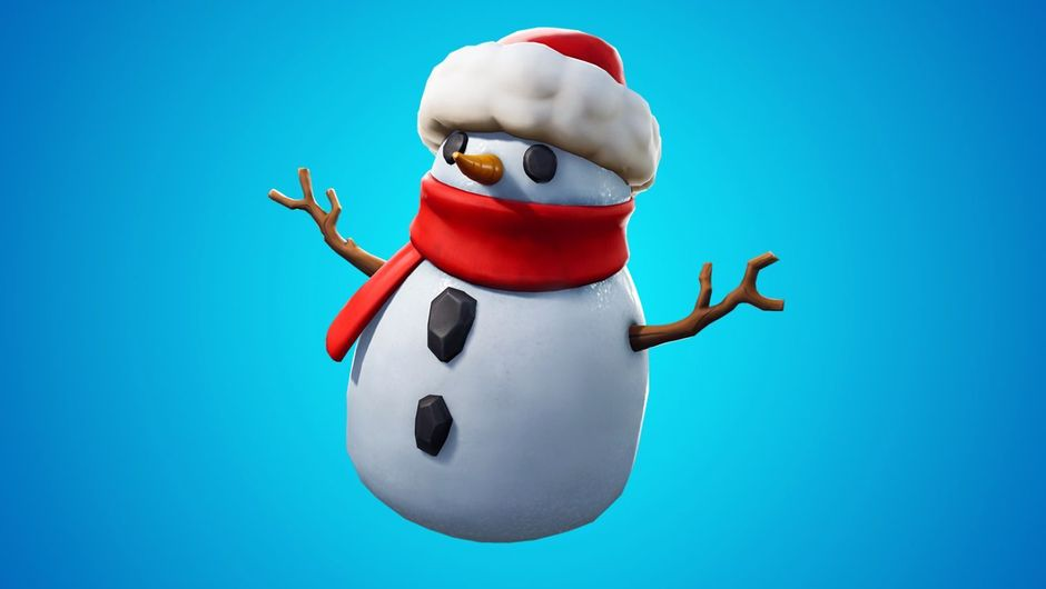 Sneaky snowman, Fortnite's latest winter-themed addition