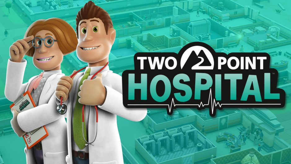 Key art for Two Point Hospital.