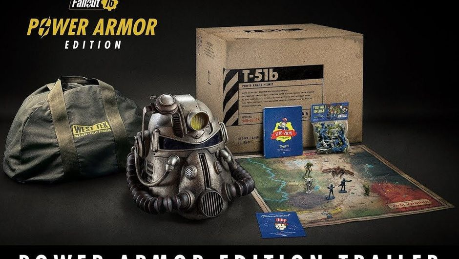Picture of Bethesda's Power Armor Edition for Fallout 76