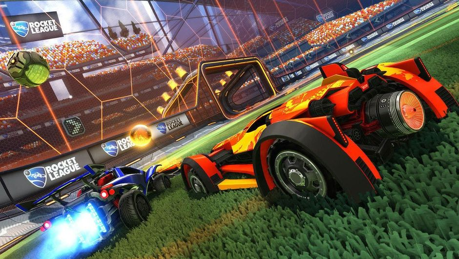 Generic image of the action in Rocket League