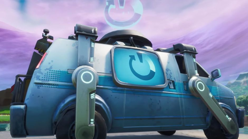 Reboot Van, Fortnite's version of Apex Legends' respawn system