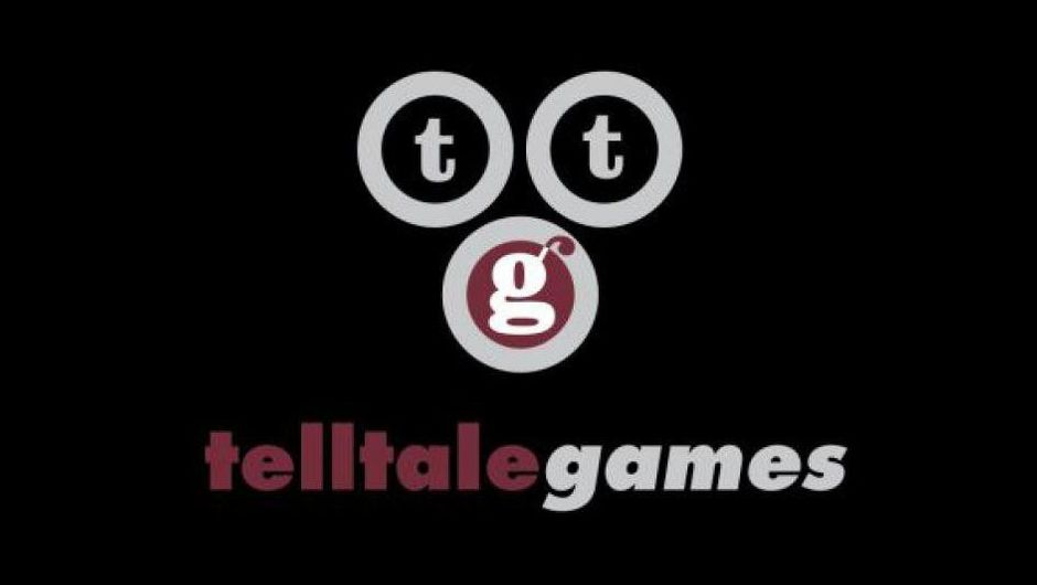 Logo for Telltale Games on a black background