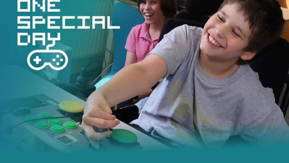 One Special Day initiative for gamers with disabilities, by Special Effect