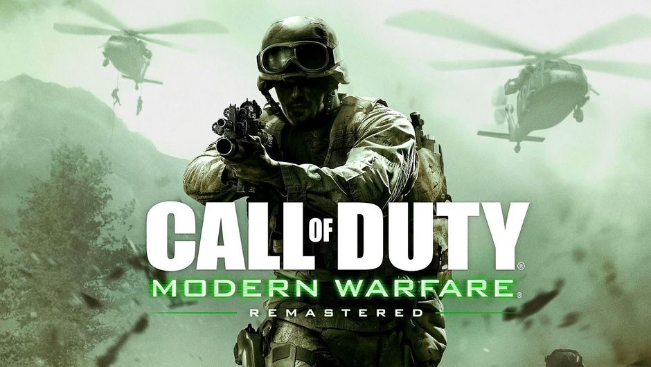 Promotional image for Call of Duty Modern Warfare Remastered