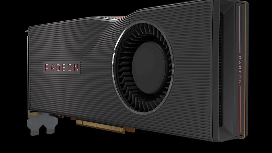 artwork showing radeon 5700 graphics card