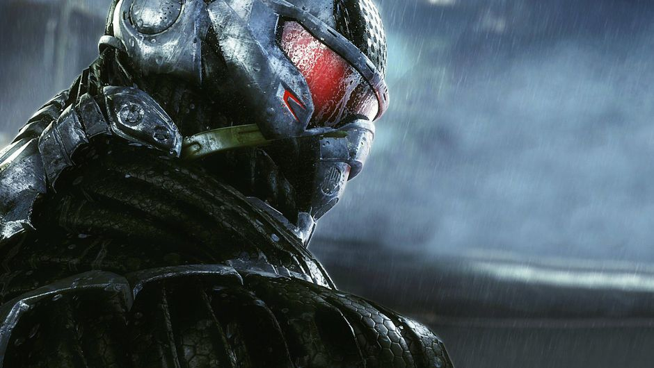 Picture of a dude in a nano suit in Crysis