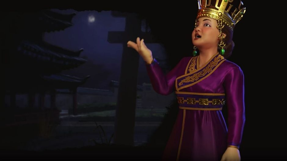 Queen Seondeok in Civilization VI: Rise and Fall