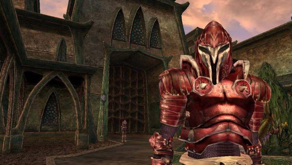 Screenshot from Bethesda's game Elder Scrolls III: Morrowind