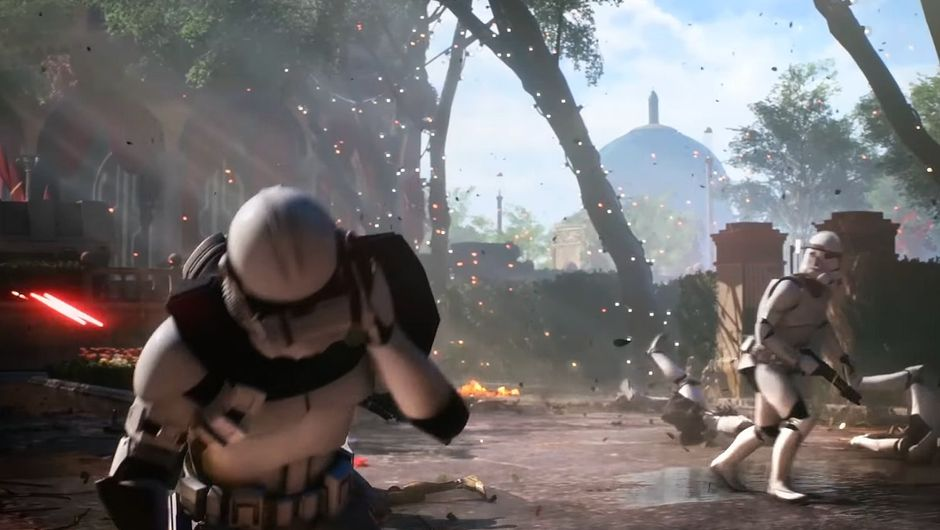 Picture of two Stormtroopers in Star Wars: Battlefront 2