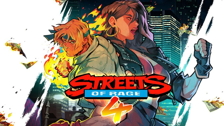 Promotional picture for Streets of Rage 4