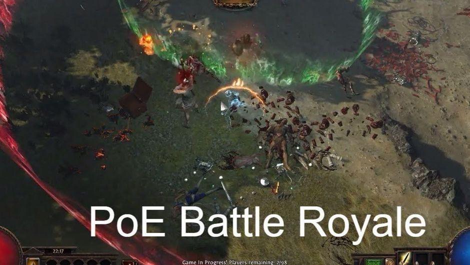 PoE Battle Royale gameplay