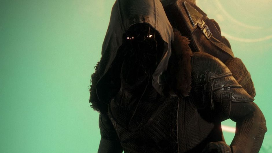 Picture of the shady NPC Xur from Destiny 2