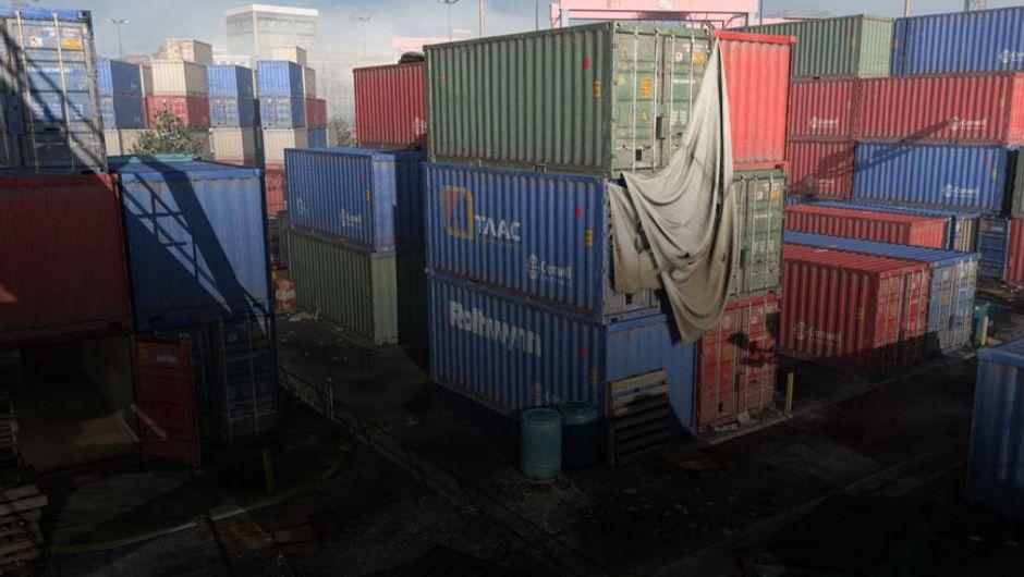 screenshot showing shipment map in cod mw