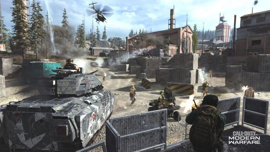 screenshot showing ground war mode