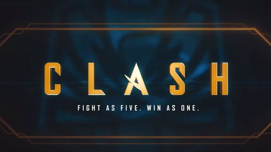 Promotional image for Clash in League of Legends