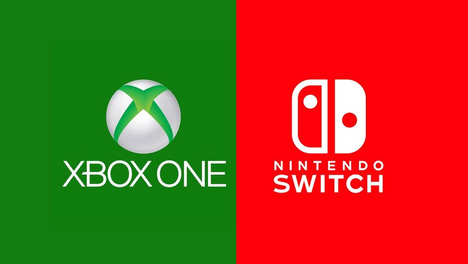 Picture of Xbox One and Nintendo Switch logos
