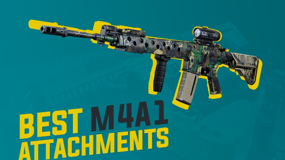 artwork showing M4A1 weapon